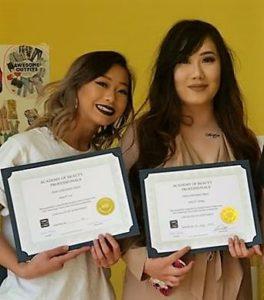 Nail Technology Graduates