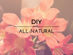 All-Natural DIY Text