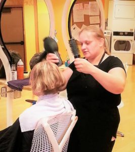 Cosmetology Student