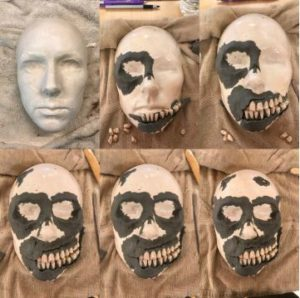 Stages of Creating a Face Mask