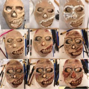 Steps to Create a Halloween Mask
