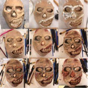 Steps to Create a Halloween Mask