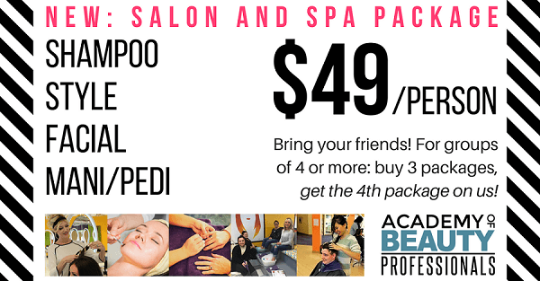 Salon and Spa Package Test