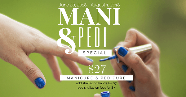 Manicure and Pedicure Special