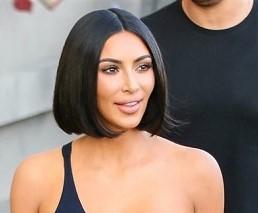 Kim Kardashian Bob Hairstyle