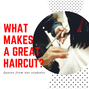 What Makes a Great Haircut Text