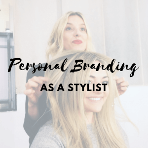 Personal Branding as a Stylist Text