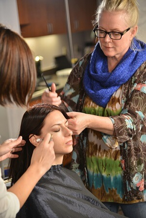 Cosmetology Instructor Styling